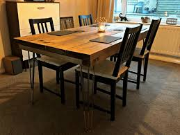 home table centerpiece ideas wooden table with metal legs cylinder