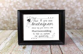 wedding quotes hashtags instagram wedding sign with hashtag name hashtag card