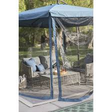 Patio Umbrella Net Walmart by Coral Coast 11 Ft Steel Offset Patio Umbrella With Detachable