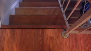 Putting Laminate Flooring On Stairs Previous Owner Did An Awful Job Installing Laminate Flooring