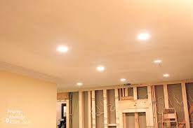 installing can lights in ceiling how to install recessed lights pretty handy