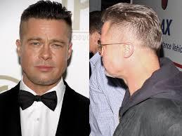 nouvelle coupe de cheveux homme brad pitt adopte la tendance skrillex découvrez sa nouvelle