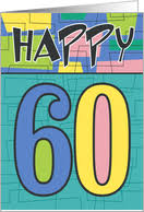 60th birthday cards from greeting card universe
