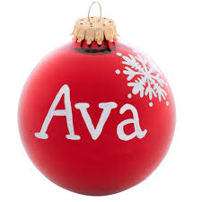 ornaments ornaments with names personalized