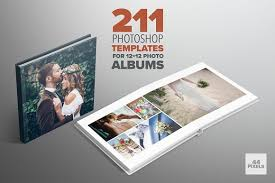 Photography Albums Photoshop Templates For 12x12 Albums Stationery Templates