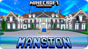 Mpce Maps Minecraft Pe Maps Huge Mansion House Map With Download Ios