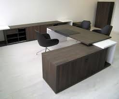 L Shaped Contemporary Desk Awesome Contemporary L Shaped Executive Desk Pictures