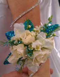 White Corsages For Prom Silver Fox Florist Prom Homecoming Weddings Anniversaries