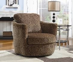 Swivel Accent Chair With Arms Glamorous Chocolate Swivel Accent Chair With Arms Oversized On