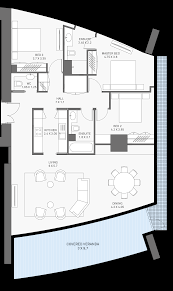 One Story Floor Plans With Bonus Room by One Iconic Address Limassol