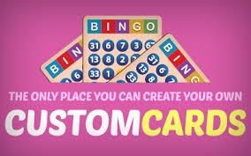 cyberbingo custom cards information