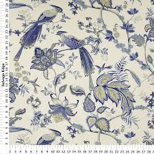 drapery fabric upholstery fabric bird fabric slip cover faabric