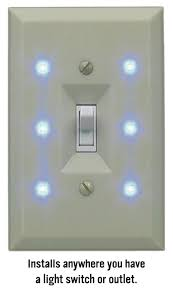 light switch cover night light lite a switch elegant night light improves hotel guest safety