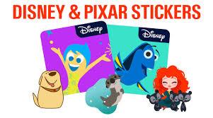 disney pixar stickers for ios10 messages app review pixar post disney pixar stickers for ios10 messages app review
