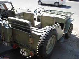 old military jeep a 1952 short chassis u0026 low bonnet willys jeep team bhp
