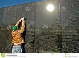 Vietnam Memorial Wall Rubbing Stock Photo Image - Who designed the vietnam wall
