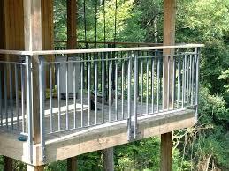 metal deck railing image of metal deck railing metal deck railing
