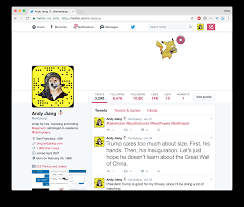 here is a twitter profile banner template for illustrator by andy