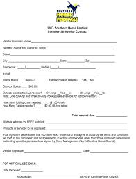 sample vendor contract northgate vendor agreement template pdf