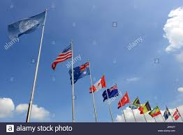 Picture Of Un Flag United Nations Flag Blowing Stock Photos U0026 United Nations Flag