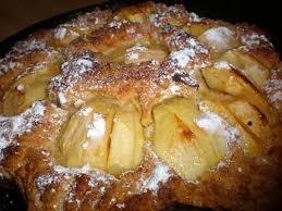 cuisine gateau aux pommes recette de gateau aux pommes et aux amandes
