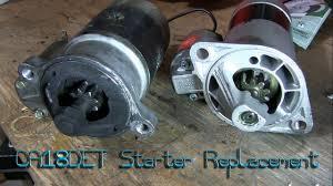 nissan micra starter motor nissan ca18det starter replacement youtube