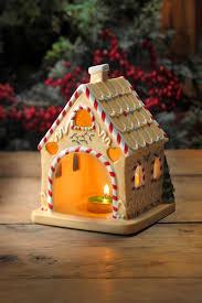 spode christmas tree 7 inch gingerbread house tealight spode usa