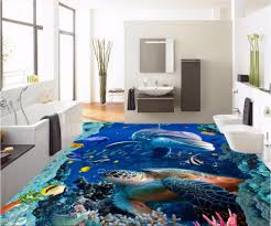 online get cheap sea turtle wall mural aliexpress com alibaba group custom mural 3d flooring picture pvc self adhesive wallpaper bedroom coral sea turtles decor painting 3d wall murals wallpaper