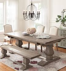 Kitchen Table Rugs Simple Neutral Dining Chairs Allow For A Patterned Rug And