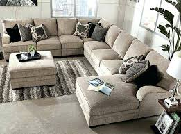 sectional napa oversized leather sectional