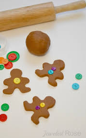 gingerbread clay recipe great for ornaments and for play