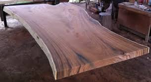 Slab Wood Table by Live Edge Dining Table Top Reclaimed Rare Solid Slab Of Golden