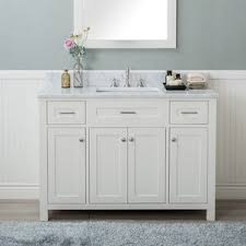 48 In Bathroom Vanity Combo 18 Inch Deep Bathroom Vanity Wayfair