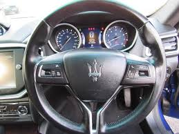 maserati steering wheel used maserati ghibli saloon 3 0 4dr in swindon wiltshire s u0026 r