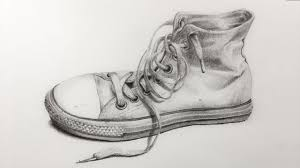 how to draw an old shoe with pencil time lapse drawing youtube
