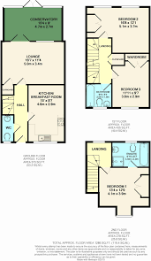 Gatwick Airport Floor Plan by 3 Bedroom Town House For Sale In Pondtail Park Horsham Rh12