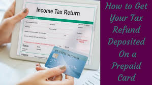get a prepaid card tax refund prepaid debit cards get your refund 2 days faster