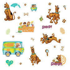 scooby doo wrapping paper scooby doo removable decals baby n toddler