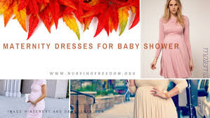 maternity dresses for baby shower nursing freedom