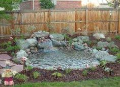Decorating Small Backyards by Small Backyard Ponds And Waterfalls Call For Free Estimate Of