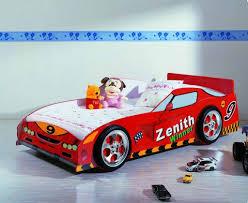 race car shaped bed for cool kid bedroom design 14 amusing kids