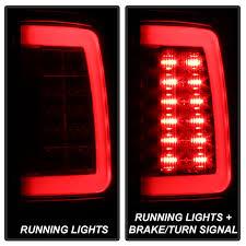 dodge ram led tail lights spyder 5084071 dodge ram 1500 ram 1500 2500 3500 led tail lights