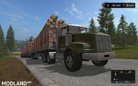 minecraft semi truck lizard log truck nokian tires v 1 1 mod farming simulator 17