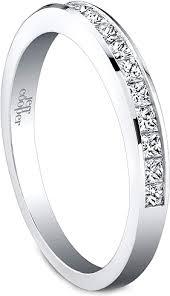 Princess Cut Wedding Ring by Jeff Cooper Princess Cut Diamond Wedding Band R 3271b