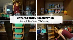 kitchen pantry organization dollar tree watch me clean wednesday