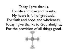 thanksgiving thanksgiving catholic prayer