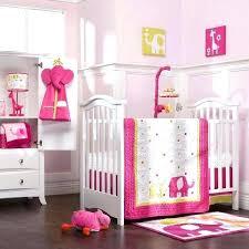 Solid Pink Crib Bedding Pink Baby Crib Bedding Hamze