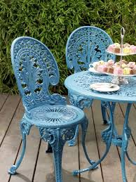 Better Homes And Gardens Wrought Iron Patio Furniture Best 25 Metal Garden Table Ideas On Pinterest Metal Containers
