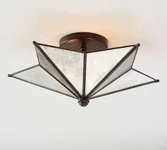 pottery barn ceiling lights moravian star flushmount pottery barn lighting pinterest with regard