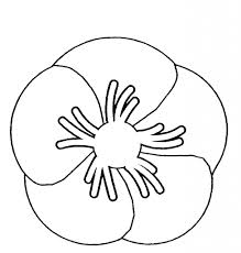 simple poppy drawing how to draw a poppy flower step step tutorial